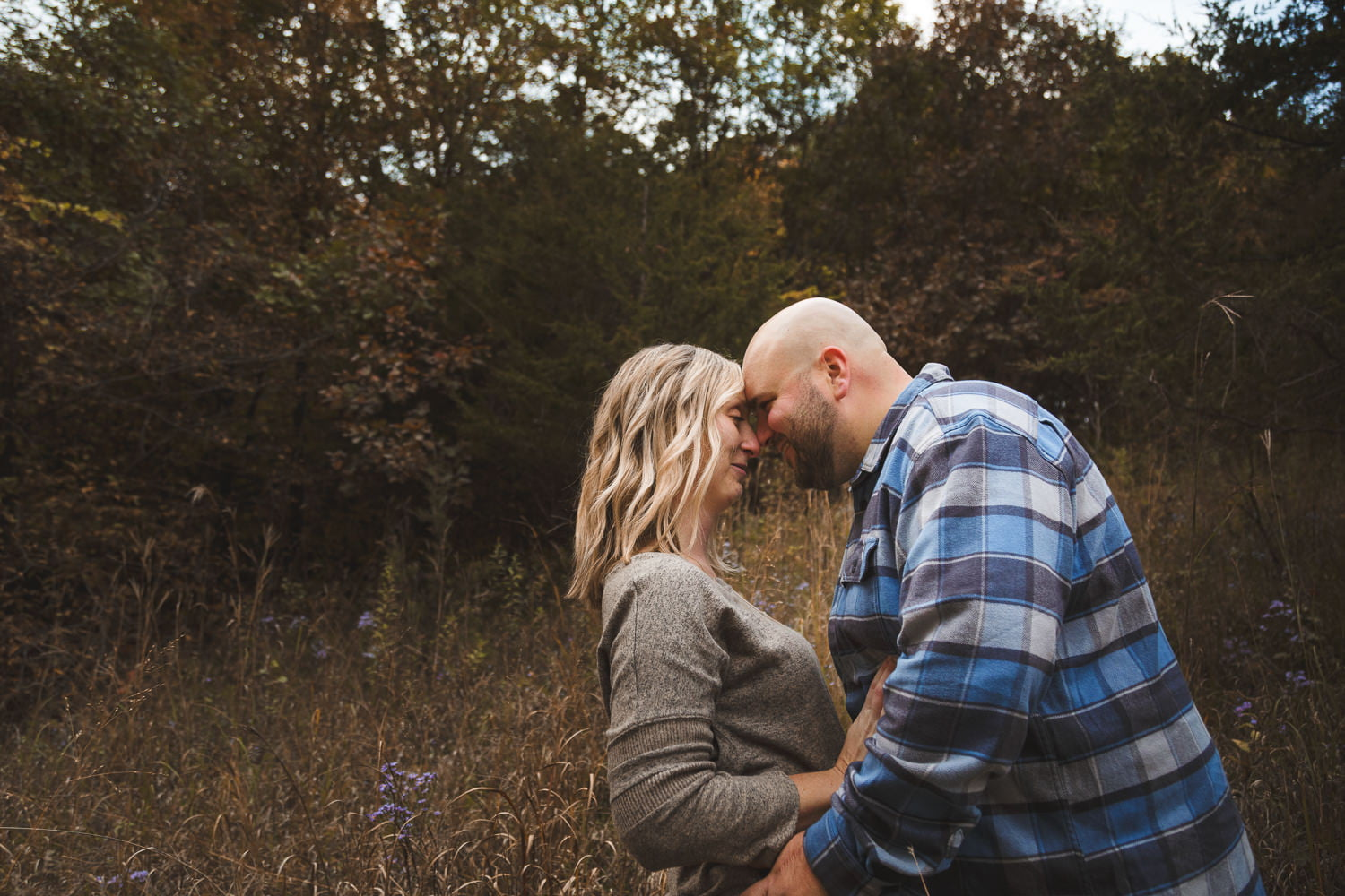 moody engagement photos in St. Peter Mn