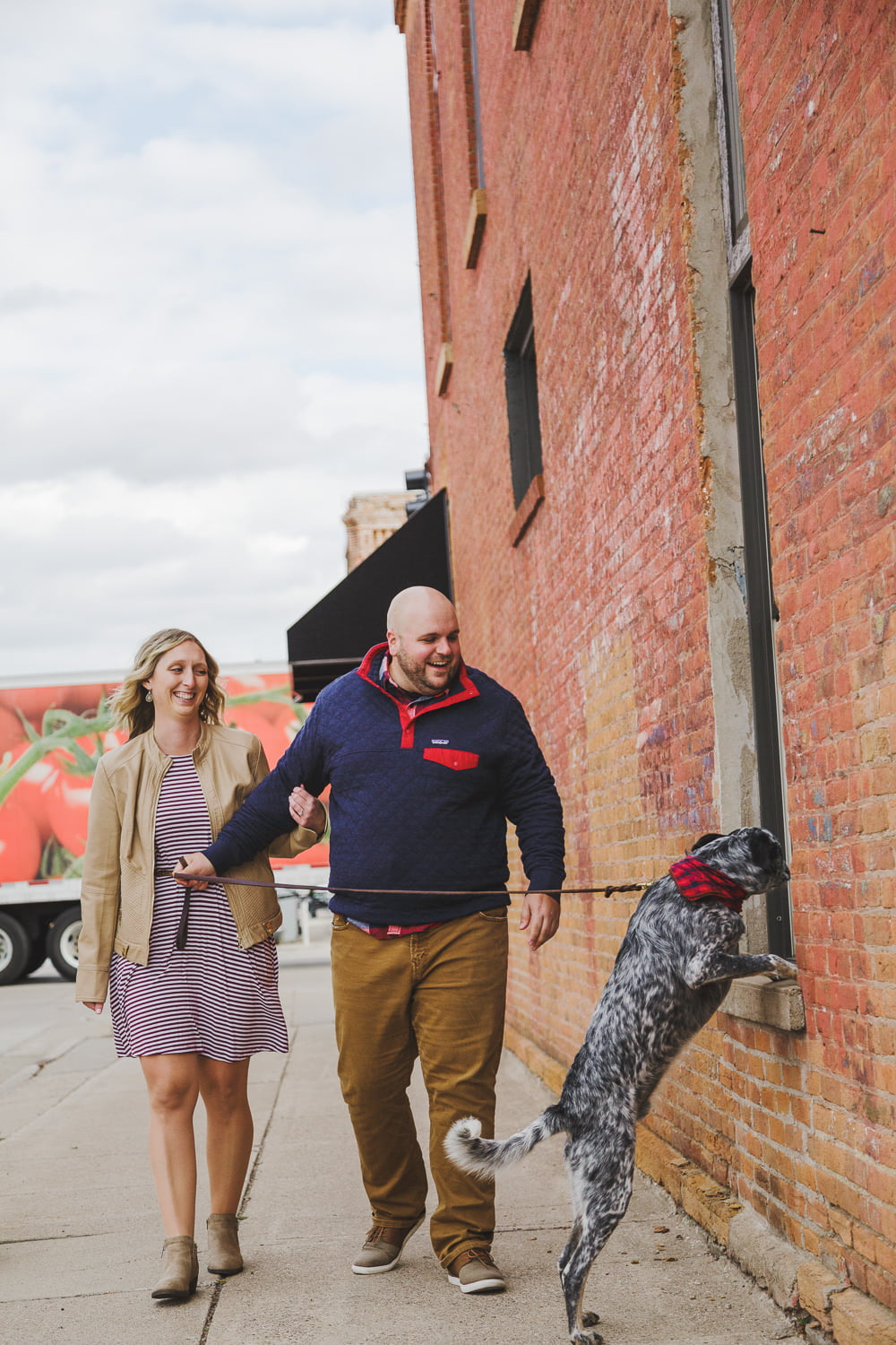 engagement photos in st peter mn